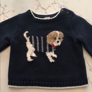 Janie & Jack Puppy Sweater